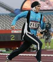 لیلا ابراهیمی، دارنده ی مدال برنز دوومیدانی آسیا