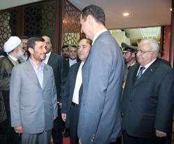 Retour du président iranien de son voyage.