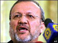 Manoutchehr Mottaki: l'Iran souhaite la fin de l'occupation de l'Irak.