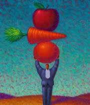 رژیم غذایی متعادل و کافی