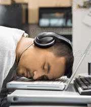 کم خوابی شدید