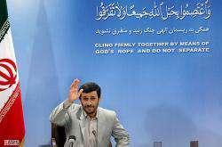 Mahmoud Ahmadinejad annonce la libération des 15 marins britanniques