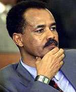 Issayas Aferwerki est arrivé à Khartoum