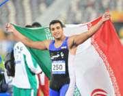 احسان حدادی، قهرمان دوومیدانی (پرتاب دیسک) آسیا