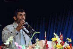 Le président Ahmadinejad et ses ministres sont arrivés dans la province de Fars