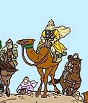 شتر ، اسب ، کاروان