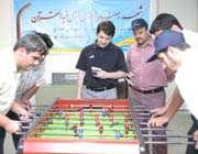 نتایج مسابقات فوتبال دستی ( جام رمضان )