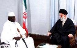 Духовный Лидер Исламской Республики принял президента Гамбии