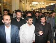 بازدید رئیس جمهور از نمایشگاه قرآن