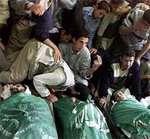 Мученическая гибель 28 палестинцев на переходе Рафах