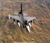 Американский истребитель F16 разбился в Ираке