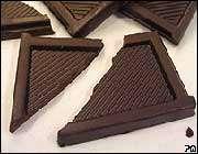 شکلات تیره