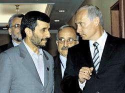 Ахмадинежад пригласил Путина принять участие в Тегеранском саммите глав прикаспийских стран