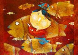 Выставка произведений иранских художников – иллюстраторов детских книг  в Москве.