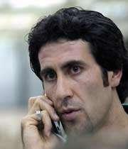 بهنام محمودی بازیکن با سابقه والیبال ایران