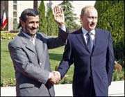 Ahmadinejad et Poutine