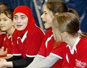 دختر مسلمان آمریكایی ازبازی فوتبال منع شد