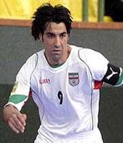 تیم فوتسال ایران پاراگوئه را شکست داد