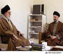 Встреча Абдул-азиза Хакима с лидером исламской революции Ирана