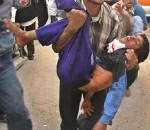 Filistinli bir kadın şehid oldu.