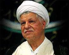 Rafsancani: İran, nükleer meselenin müzakere yoluyla çözümlenmesi için uğraşıyor.