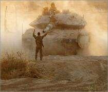 İsrail tankları Gazze'ye girdi