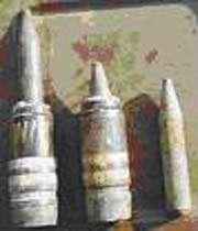 utilisation de munitions à l'uranium appauvri par les forces américano sionistes sur différents théâtres d'opération