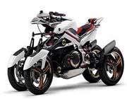 نسل جدید موتورسیکلت های چهارچرخه عرضه شد