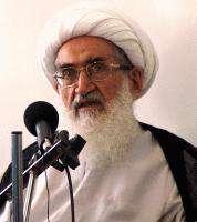 Ayetullah Nuri Hemedani: 'İran milleti ve Müslümanlar düşmana karşı uyanık olmalılar.'