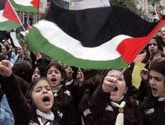 Filistin ve İsrailli çocuklar barış yolculuğunda