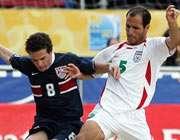 دومین شکست فوتبال ساحلی ایران