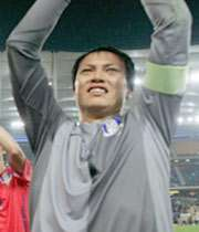 حذف جائه از لیست بهترین بازیکنان آسیا