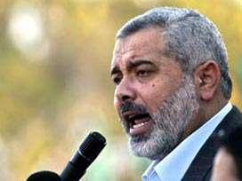 Siyonistler Filistin Başbakanı Heniyye'nin Evine Füze Attı
