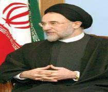 Hatemi Medeniyetler itilafı grubu oturumuna katılıyor