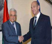 Olmert'ten Abbas'a HAMAS Düşmanlığından Dolayı Övgü