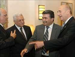 Filistin ve İsrail yönetimi biraraya geliyor