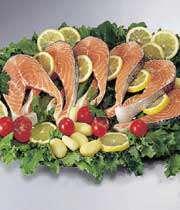 ماهی و سبزی؛ پیشگیری از آسم