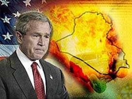 ABD Başkanı Bush zorda