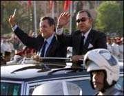 Nicolas Sarkozy et Mohammed VI