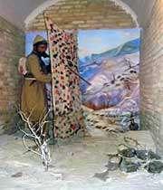зимняя охота - фрагмент экспозиции музея