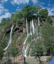 водопад бише - один из самых красивых водоподав в иране