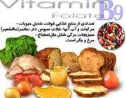 منابع غذايي اسيد فوليک