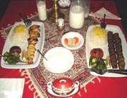 الأطعمة  الايرانية