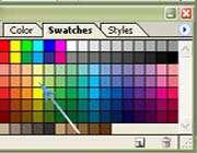 نحوه انتخاب یك رنگ