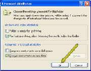 رمز گذاری یك فایل یا فولدر