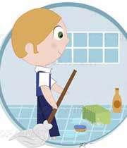 هشدارهای خانگی درباره مواد شوینده