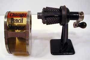چرخ و محور - مداد تراش رومیزی