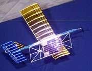 هواپیمایی که بوسیله نور لیزر تغذیه می شود