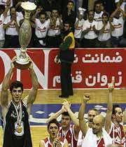 مهرام قهرمان لیگ برتر بسکتبال