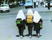 در راه رفتن به مدرسه
